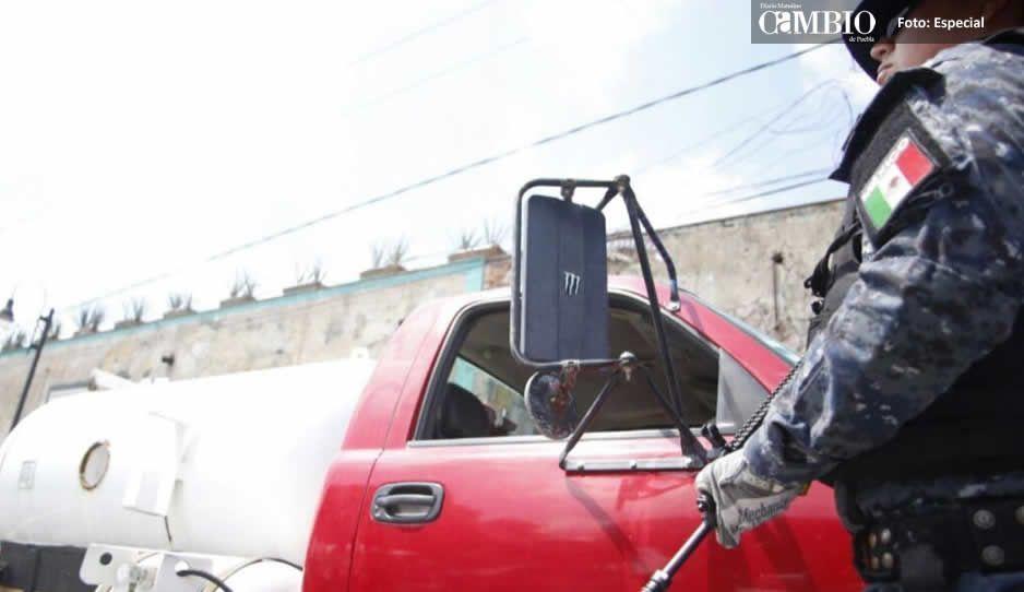 En San Andrés Cholula taller clonó pipas de gas LP durante cinco años