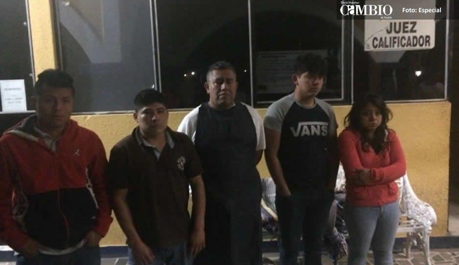 Al estilo de búsqueda implacable rescatan a 9 secuestrados en Tepeaca (VIDEO)