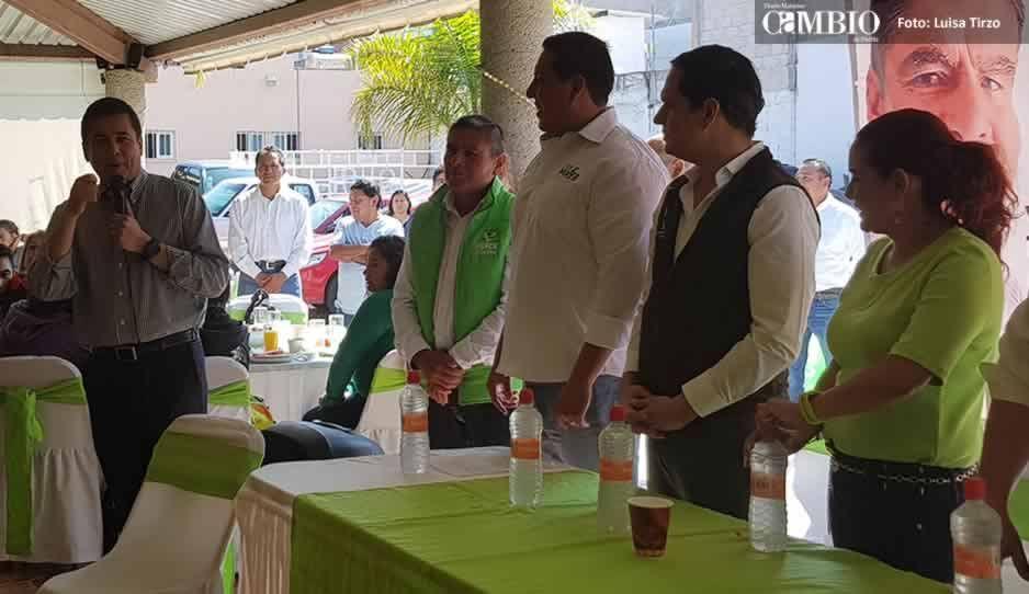 Dirigente nacional del Verde llama traidor y desertor a Juan Manuel Reyes
