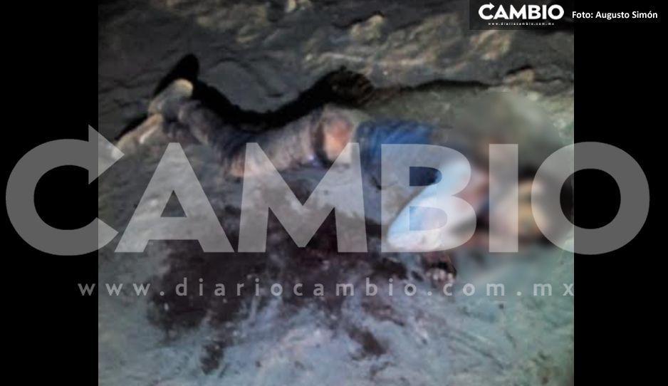 Hallan cadáver de joven apuñalado y degollado en Cañada Morelos