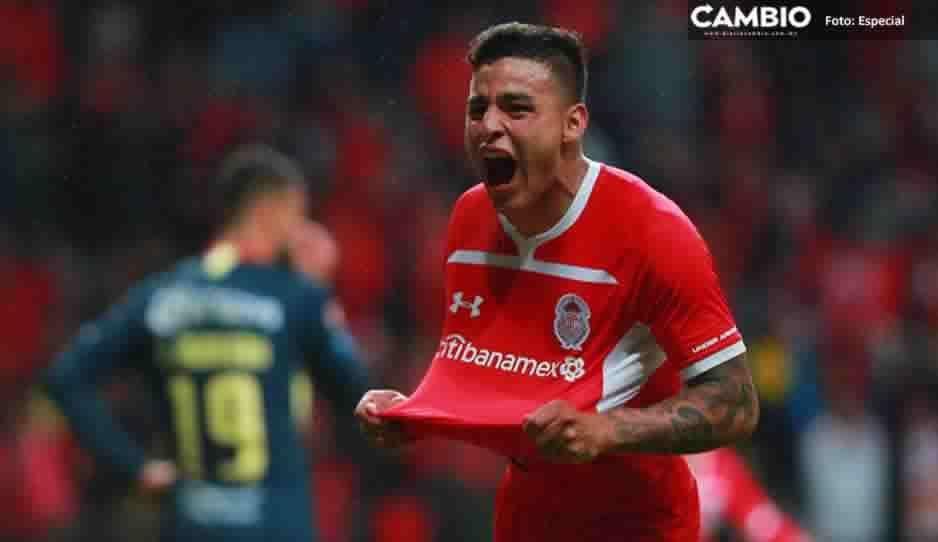 En la recta final, Toluca logra el empate ante el América en partido de ida