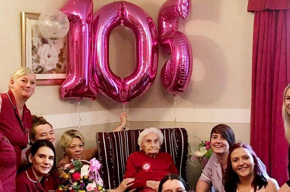 Evitar a los hombres; Es el secreto de longevidad de esta abuelita que llegó a los 105 años