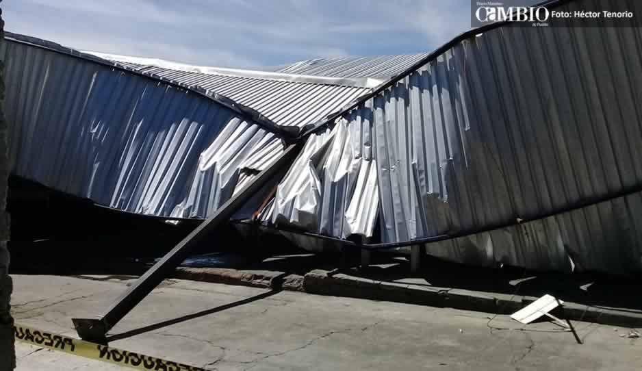Permisionarios del mercado municipal de Huejotzingo se niegan a recibir apoyo para remodelar inmueble