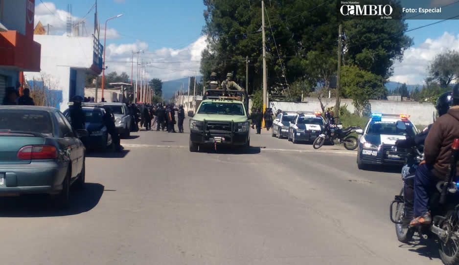 Crimen organizado tiene amenazadas a cuatro escuelas de Texmelucan: UNPF