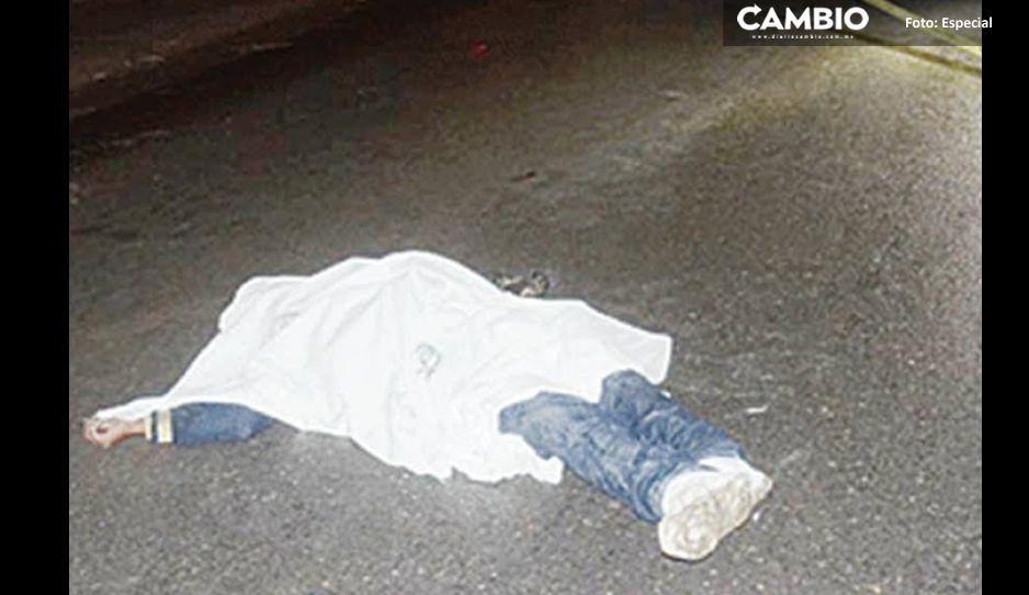 ¡Desgraciado! Atropella a un joven en Teziutlán y se da a la fuga