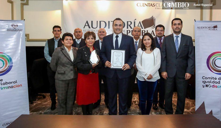 Auditoría Puebla impulsa la igualdad  laboral y combate la discriminación