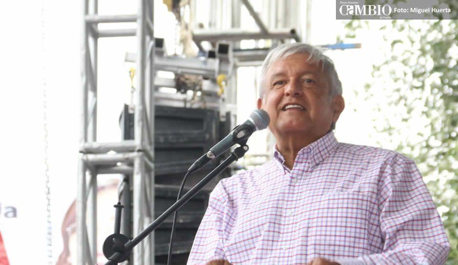 Fracasa cierre de campaña de AMLO en Veracruz por partido de México