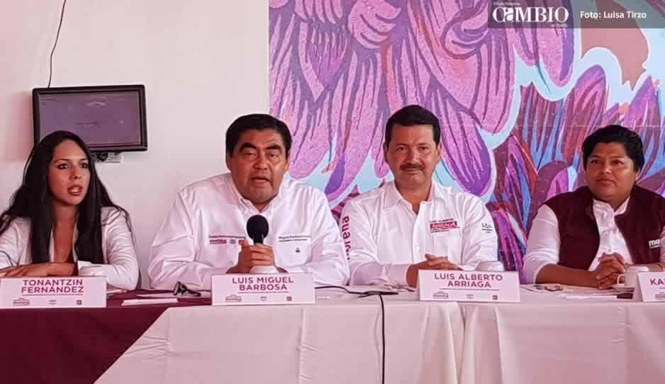 Asegura Barbosa que los excluidos de Morena promueven voto diferenciado