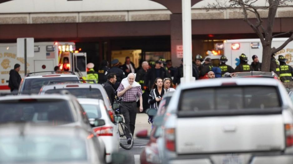 Balacera en hospital de Chicago deja al menos 4 muertos