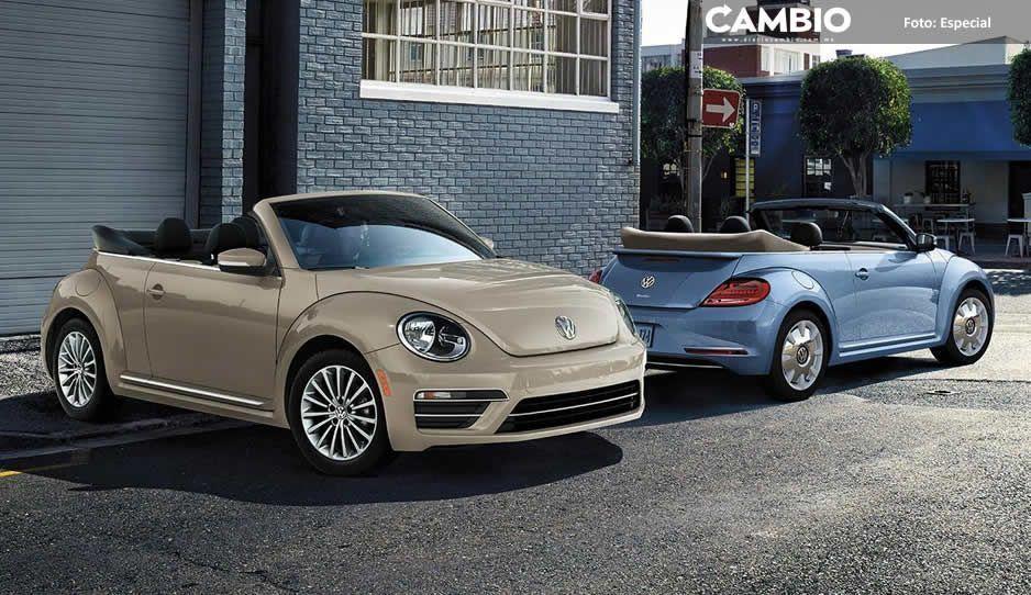 Volkswagen se despide del Beetle con últimos modelos