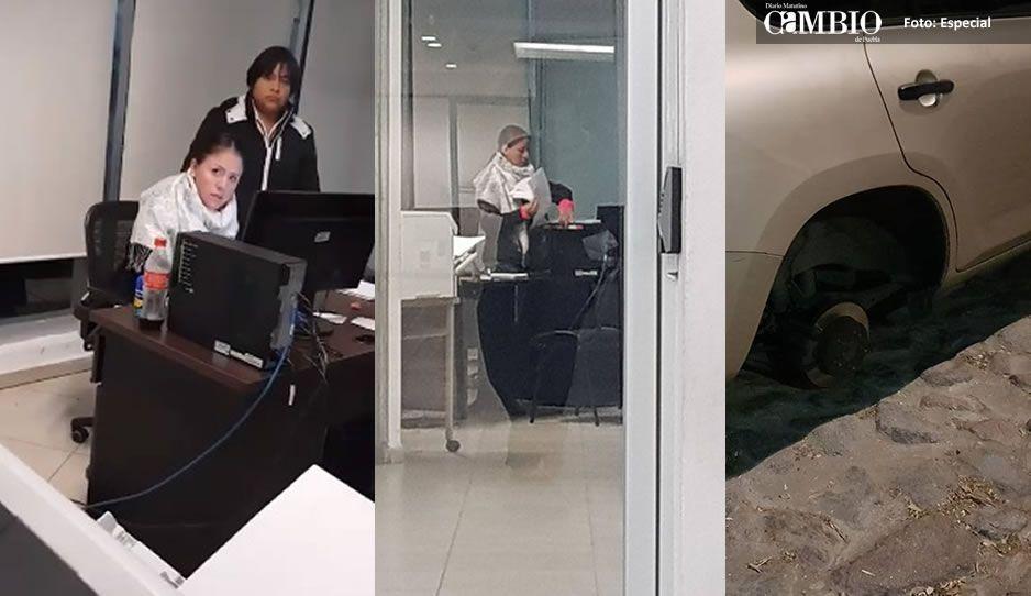 #LadyFiscalía: Que se espere hasta que se aburra, le dicen a hombre al levantar denuncia por robo