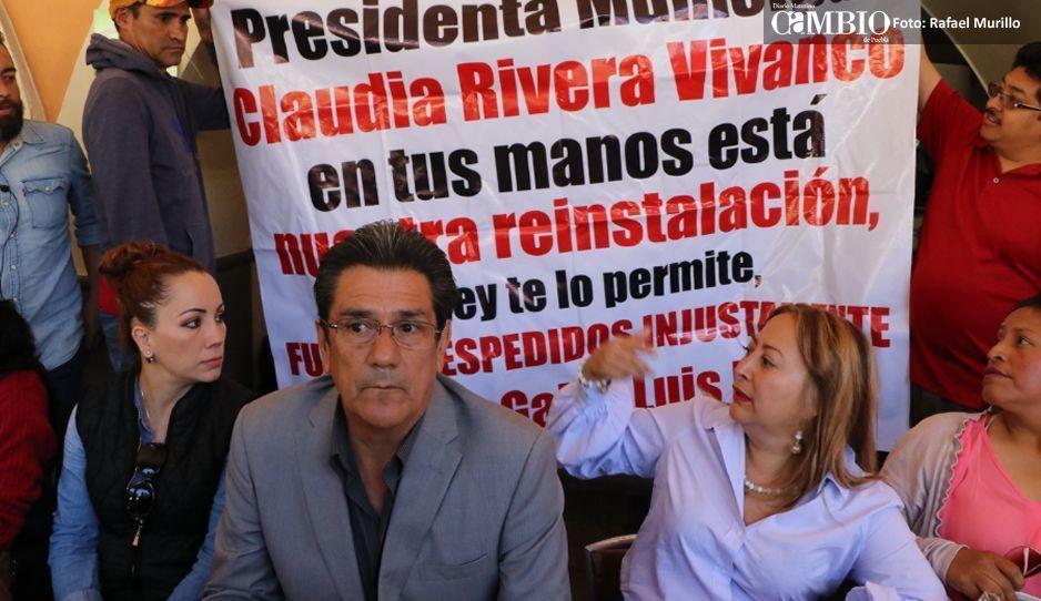 Israel Pacheco & friends piden a Claudia cambiar negociadores para su reinstalación
