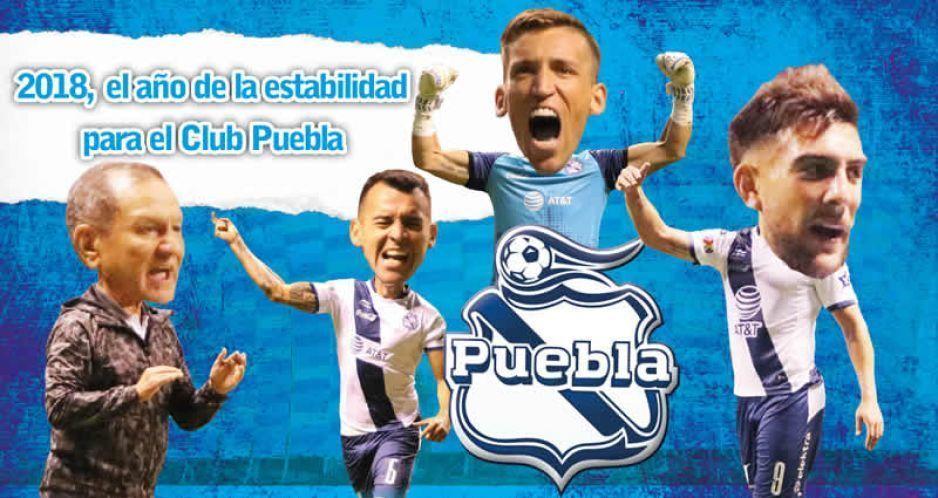 2018, año de estabilidad y mediocridad para el Club Puebla