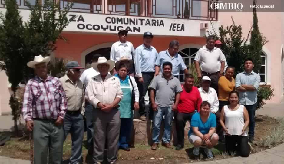 Pobladores y ex candidatos de Ocoyucan exigen que el Estado asuma el control de la seguridad