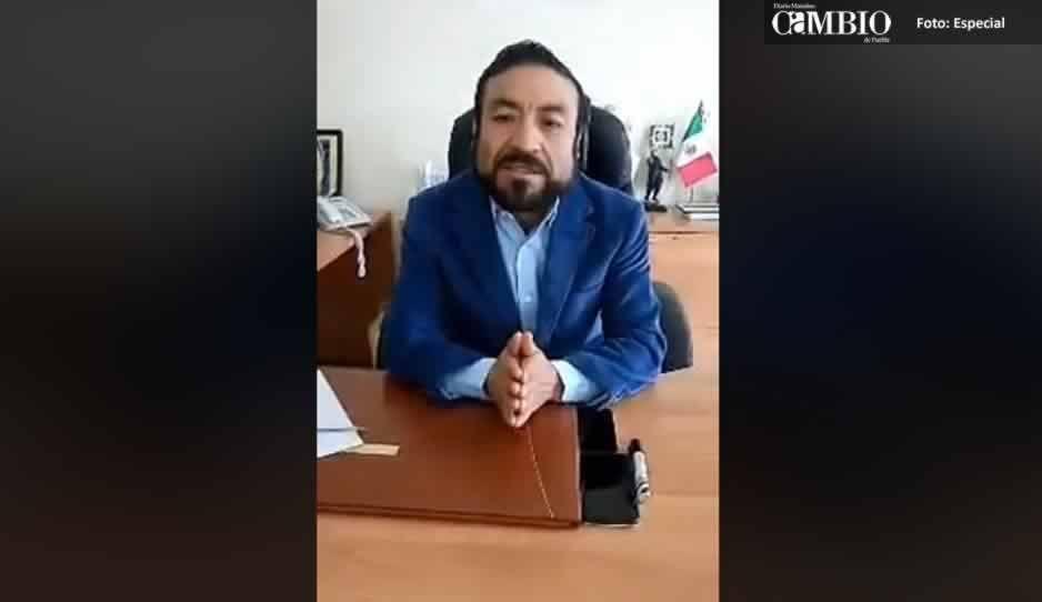 Acusaciones de policías en video son falsas, asegura el edil de Amozoc (VIDEO)