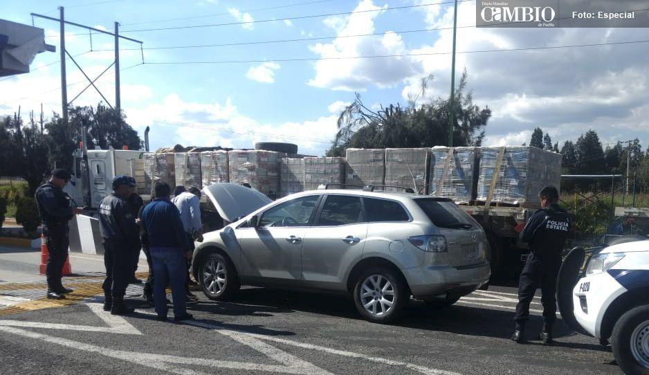 Detienen a sujetos armados y con sustancias prohibidas en la Texmelucan-Tlaxcala