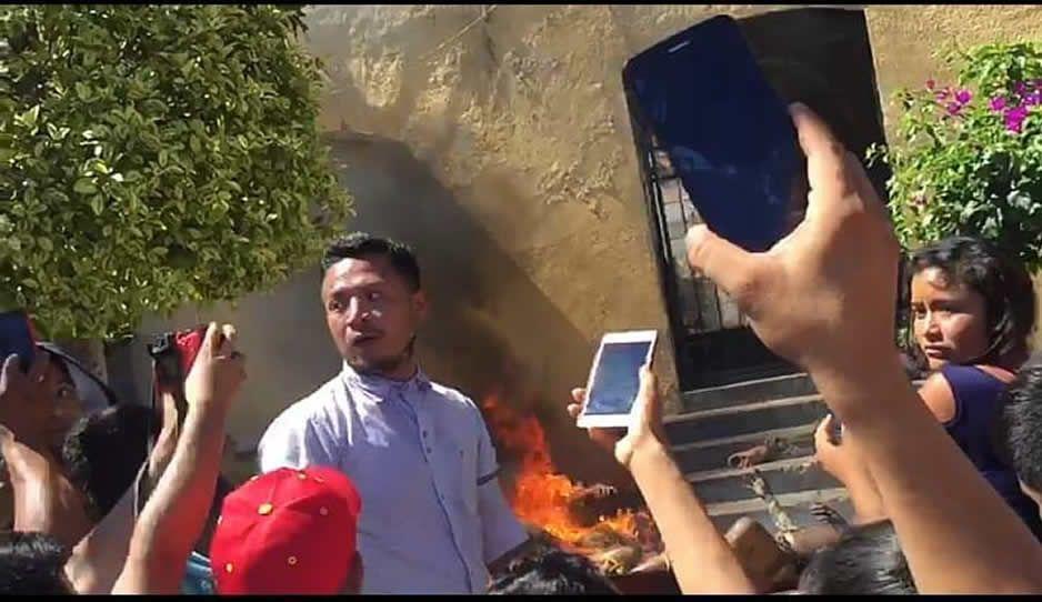 Este sujeto fue el principal instigador del linchamiento en Acatlán: ayúdanos a identificarlo