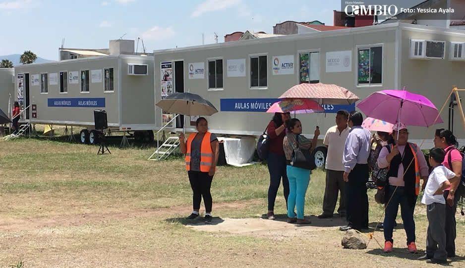 Atlixco dona terreno para reconstrucción de escuela dañada el 19-S
