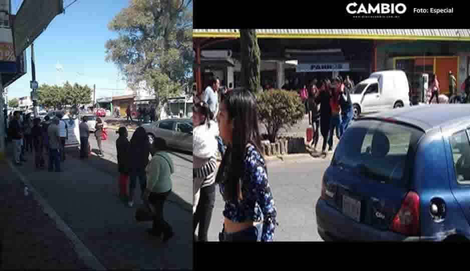 Comando armado asalta a comerciantes en el Mercado Morelos; clientes sufren crisis nerviosa