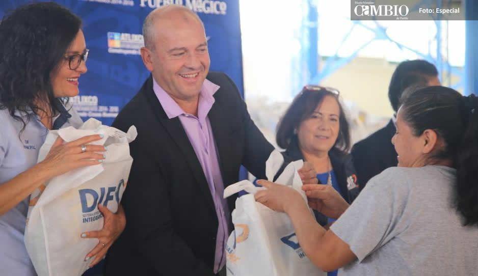 DIF de Atlixco entregó más de 7 mil despensas