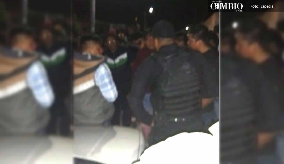 Sujetos alcoholizados ingresan a domicilio en Tuxco; pobladores amenazan con lincharlos