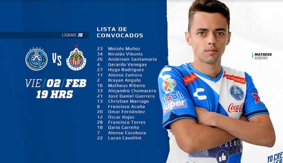 Chivas, a seguir mandando en Puebla ante La Franja