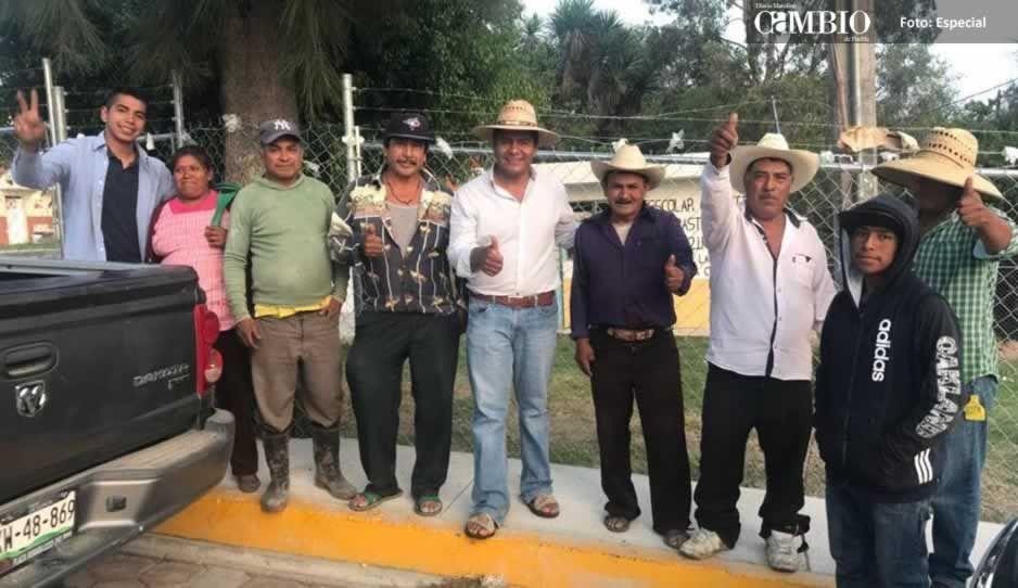 Marco Juárez apoya las necesidades de Ocoyucan