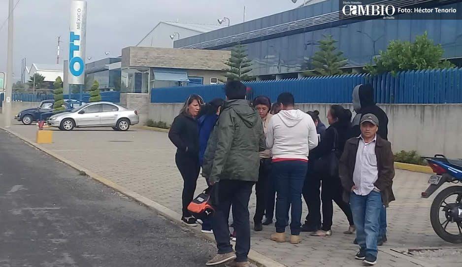 Trabajadores de OTT en Huejotzingo piden que se les aclare situación laboral