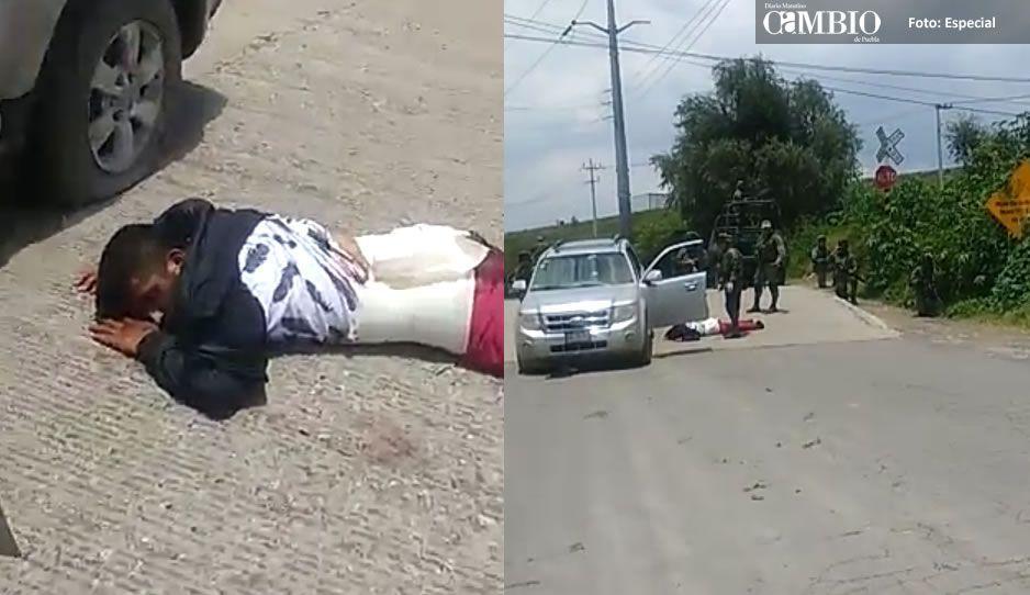 VIDEO: Huachicoleros corren a personal del Ejército tras lesionar a Javier Solís
