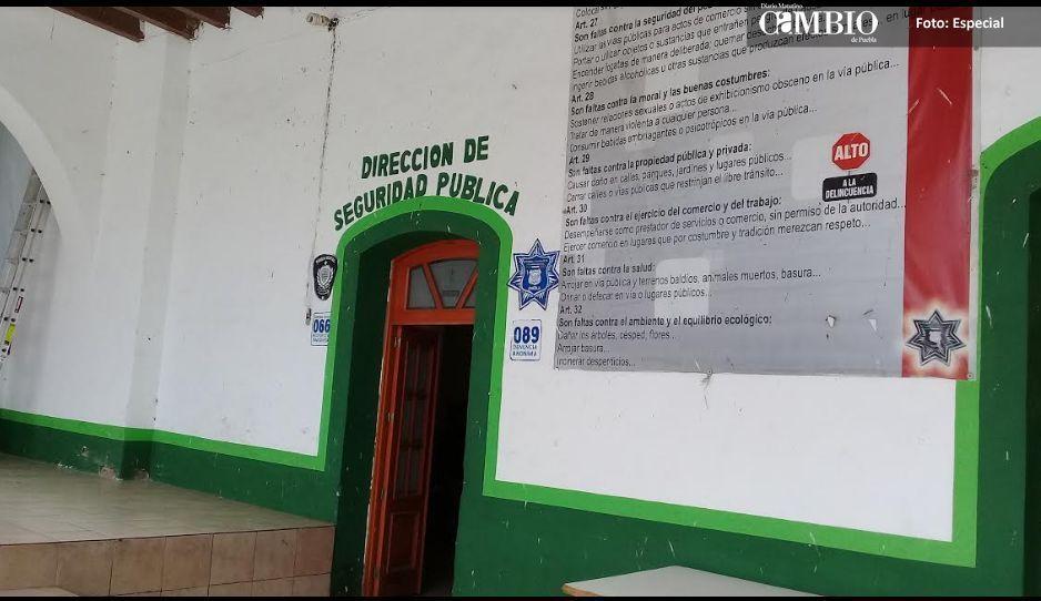Autoridades auxiliares piden reforzar la seguridad en Chiautzingo