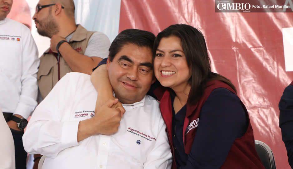 Barbosa y Rivera Vivanco realizan campaña juntos para evitar aparente distanciamiento