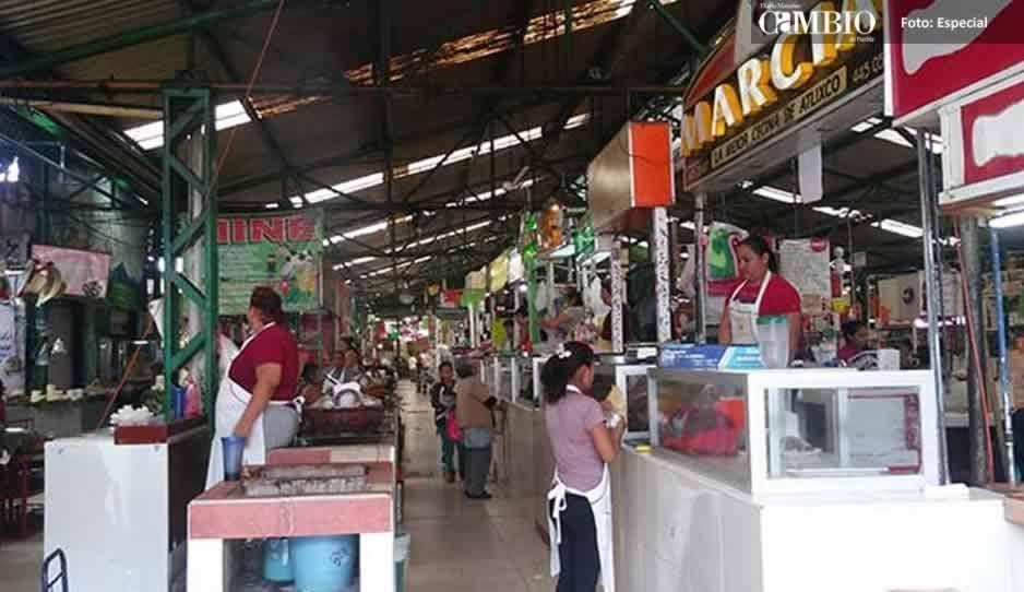 Bajas ventas en el mercado Benito Juárez en Atlixco