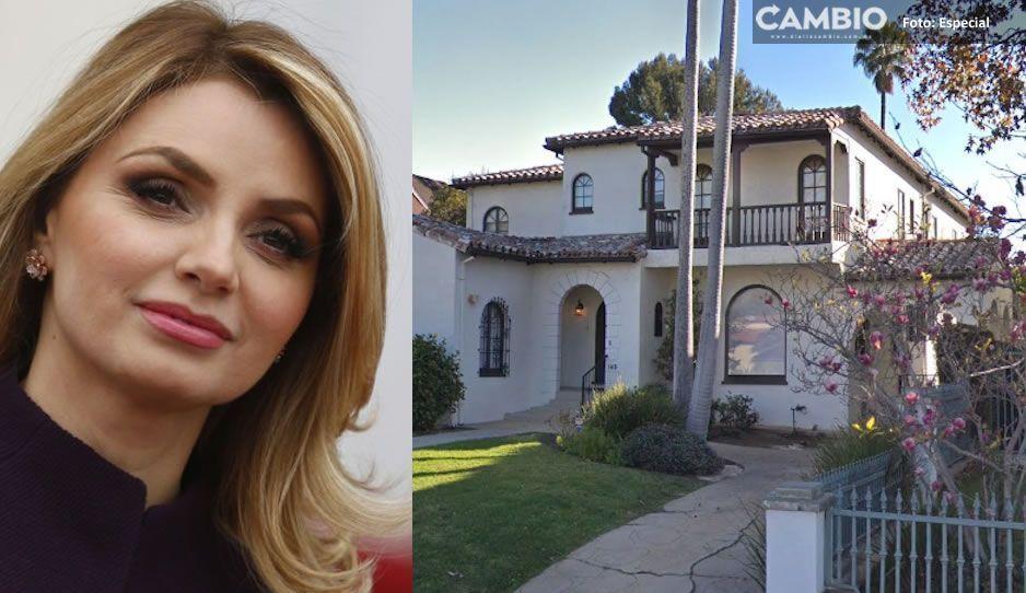 Angélica Rivera compró casa de 63 millones de pesos en Los Ángeles (FOTOS)