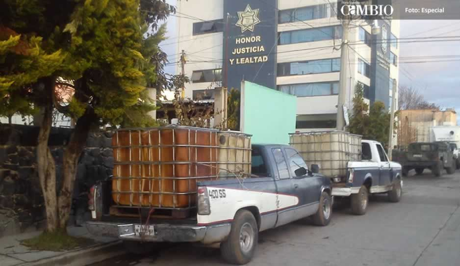 Despiden a policías de Tlalancaleca por presuntos vínculos con chupaductos