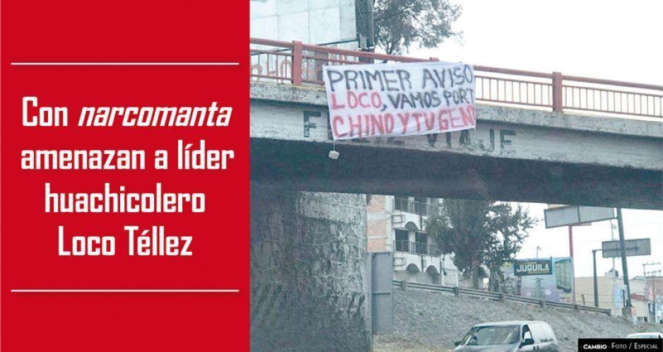 Otra narcomanta en San Martín alimenta la paranoia; van por El Loco Téllez