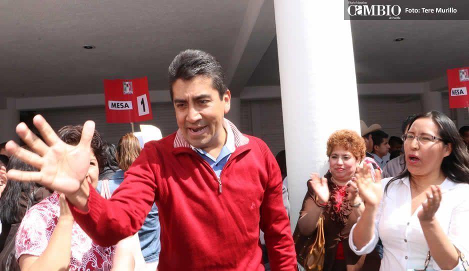 Armenta exhibe traición de Zacatelco a favor de Morena en San Pedro Cholula
