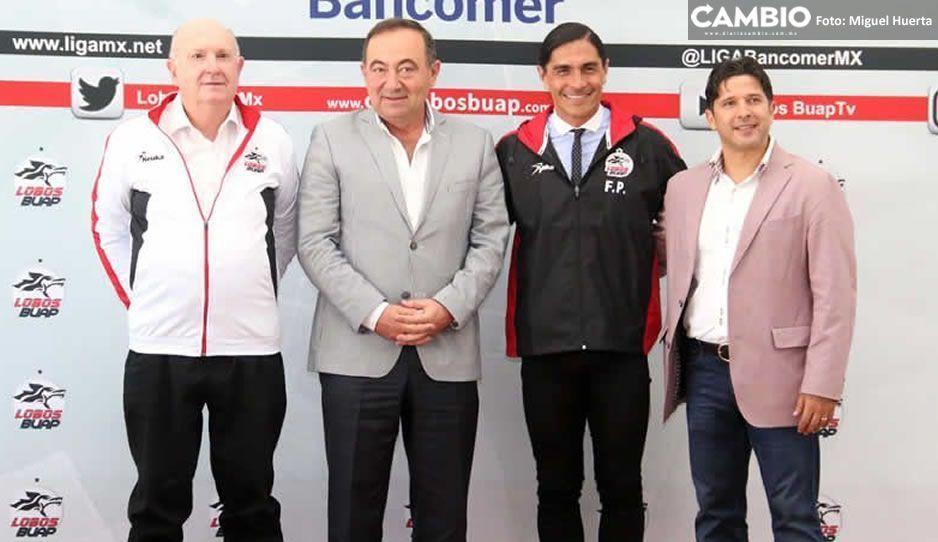 Maza Rodríguez y Francisco Palencia 'pagarán' adeudos en Lobos BUAP