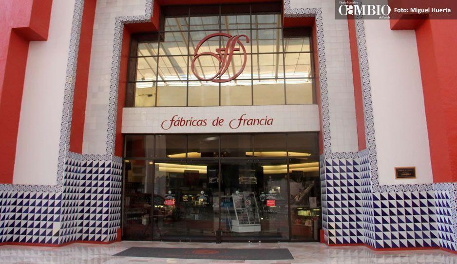 Fábricas de Francia se convertirá en tiendas Liverpool y Suburbia