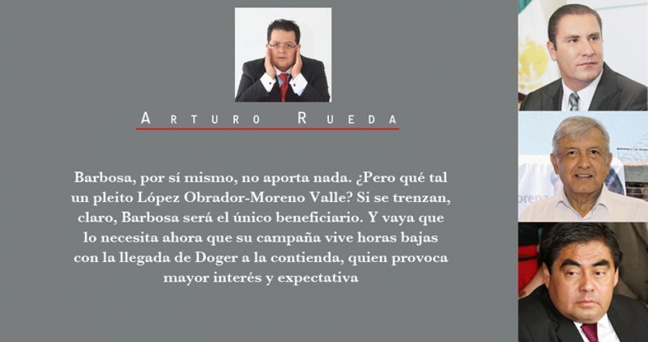 ¿Moreno Valle o Barbosa autor de las llamadas antiAMLO?