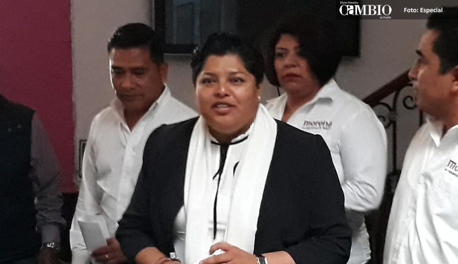 Pérez Popoca se deslinda obras inconclusas de Leoncio Paisano en San Andrés Cholula
