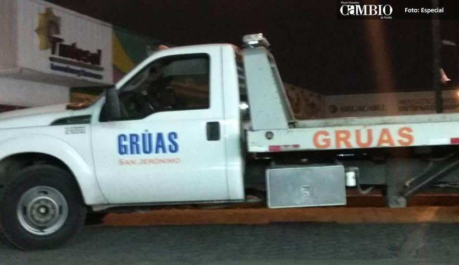 Regidora de Cuautlancingo impone cuotas a polis por enviar coches al corralón