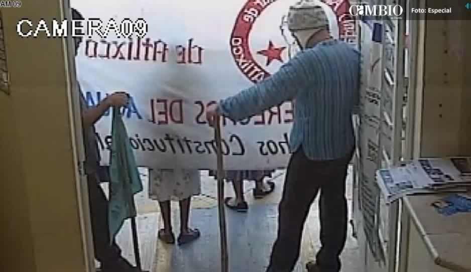 Violentos manifestantes tomaron instalaciones del SOAPAMA