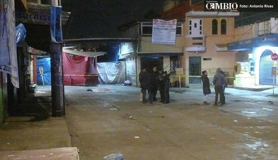 Asesinan a balazos a un hombre en el mercado Hidalgo