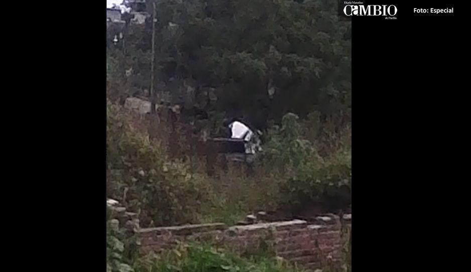 Balacera en Texmelucan y la Policía Municipal ni enterada