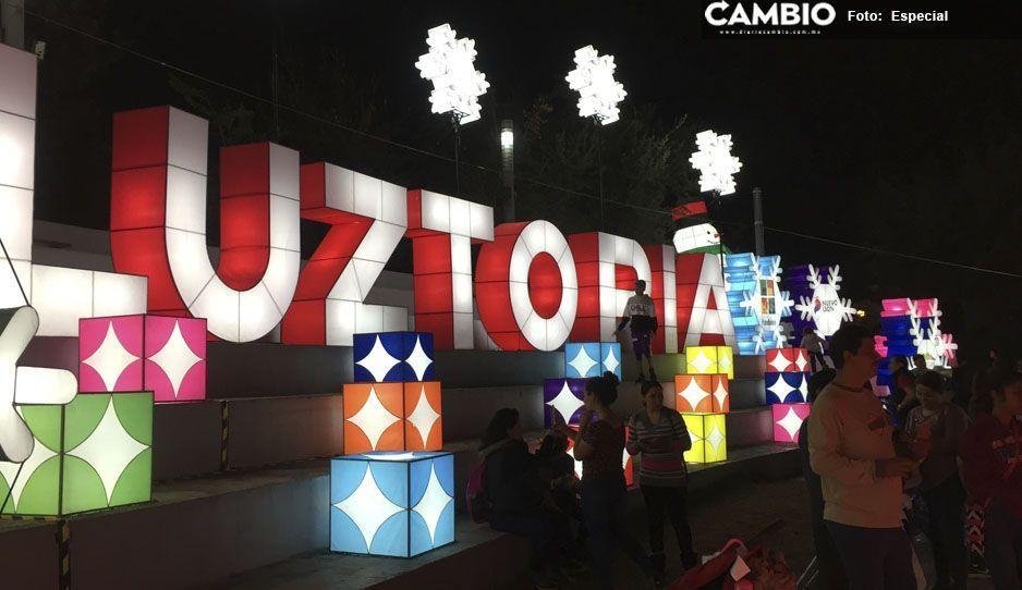 Manos atlixquenses crean figuras para LuzTopía en Monterrey