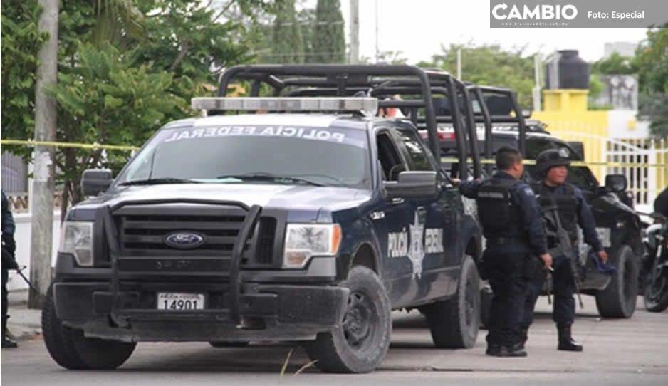 Policía municipal y Federal recuperan dos vehículos robados en Texmelucan
