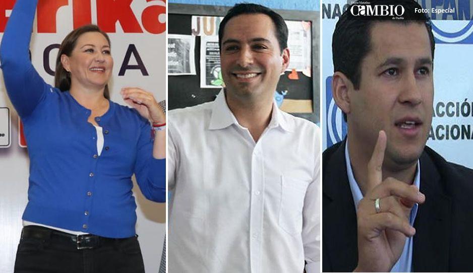 El PAN ganaría tres gubernaturas: Puebla, Yucatán y Guanajuato