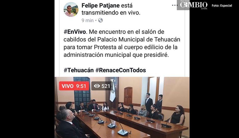 Nueva administración en Tehucán niega acceso a la prensa a primera sesión de cabildo