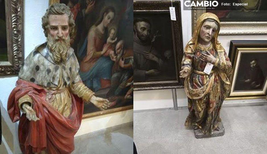 Para famita… conocida galería de arte en CdMx albergaba esculturas robadas en Izúcar