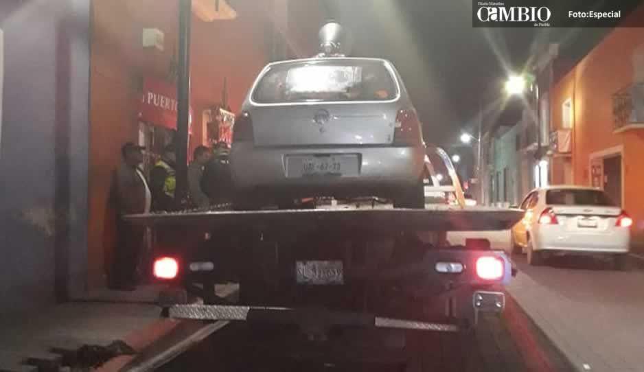 Municipales detienen a chofer de perifoneo en San Pedro que voceaba contra el ayuntamiento